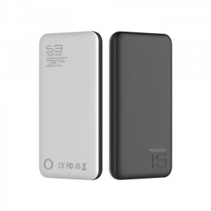 Външна батерия Puridea S3 15 000mAh за Huawei Honor 9X Pro