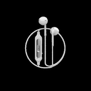 Смарт безжични слушалки DEVIA V2 White