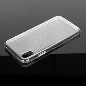 Силиконов гръб Ultra Slim GLITTER 0,5мм за Apple iPhone SE 2020