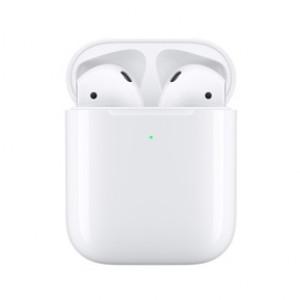 Apple AirPods с безжично зарядно устройство (MRXJ2ZM/A)
